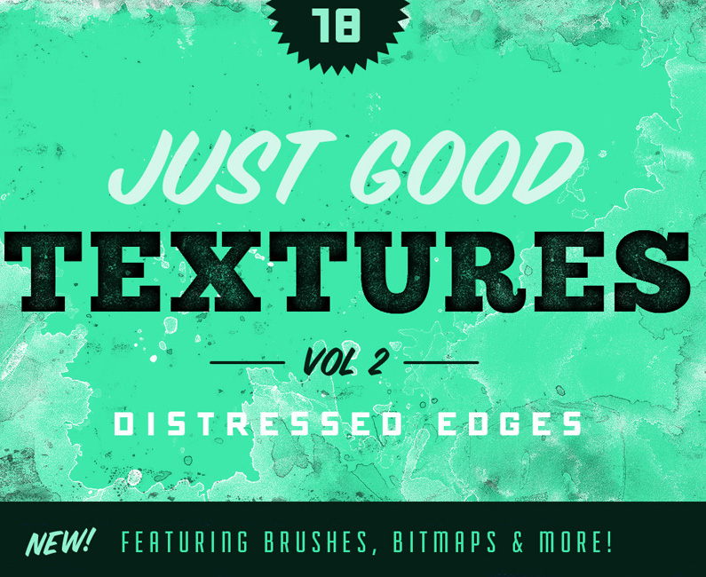 Just Good Textures v2 Distress Edges