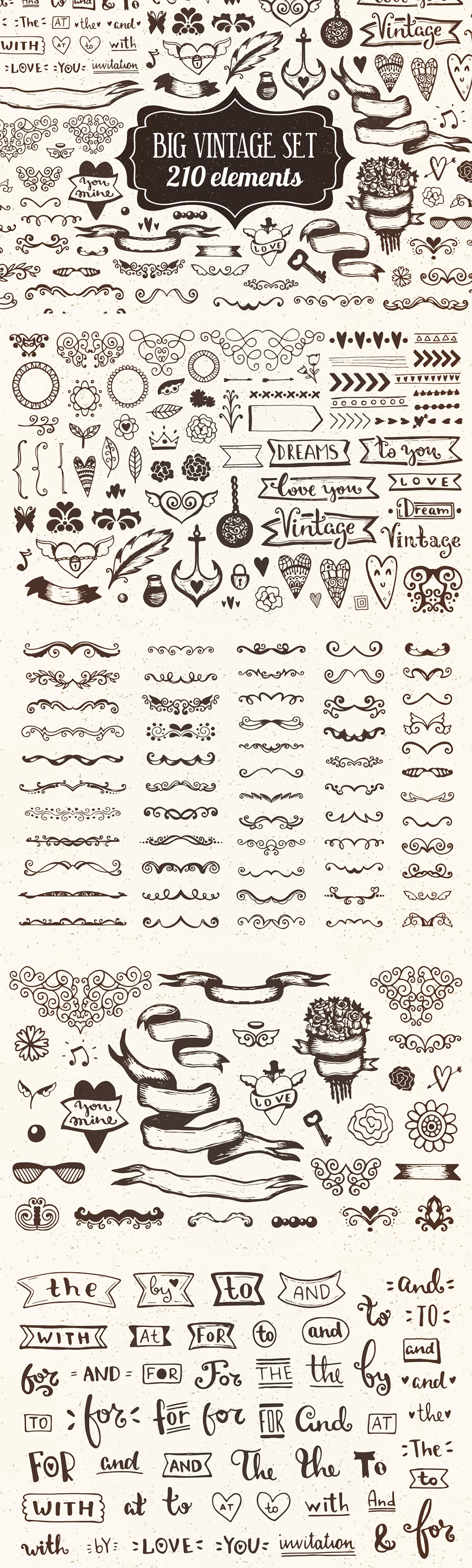 The Essential Hand-Made Vectors Collection