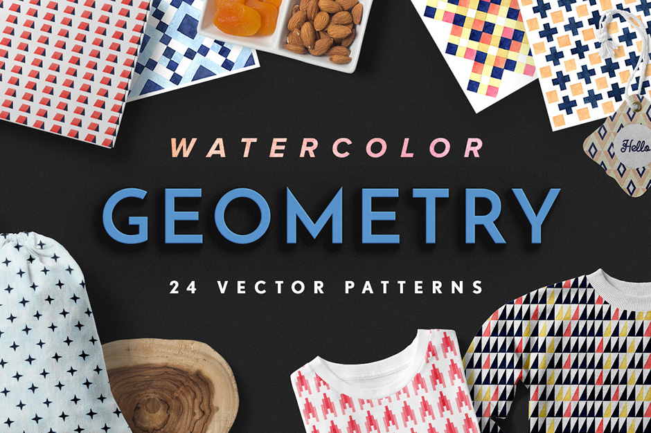 geometry-watercolour-vector-patterns-first-image