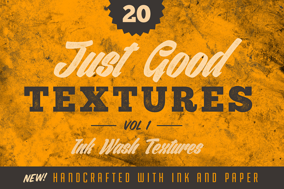 Just Good Textures v1 - Ink Washes