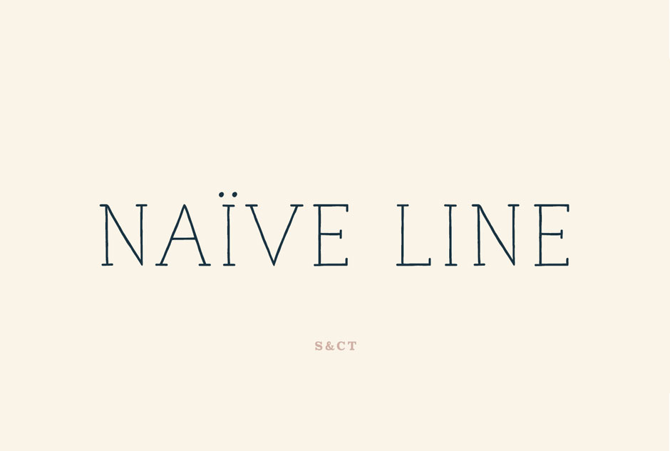 Naive Line Font Pack