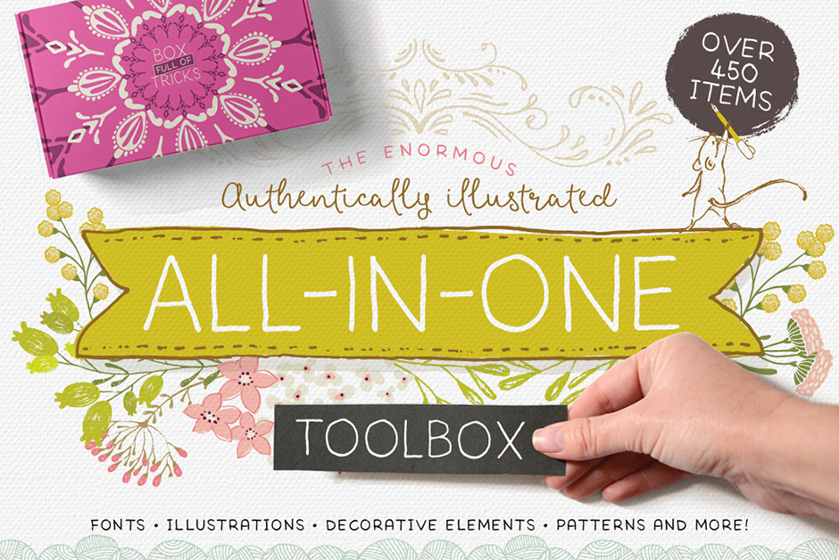 The Enormous, Authentically Illustrated All-in-One Toolbox