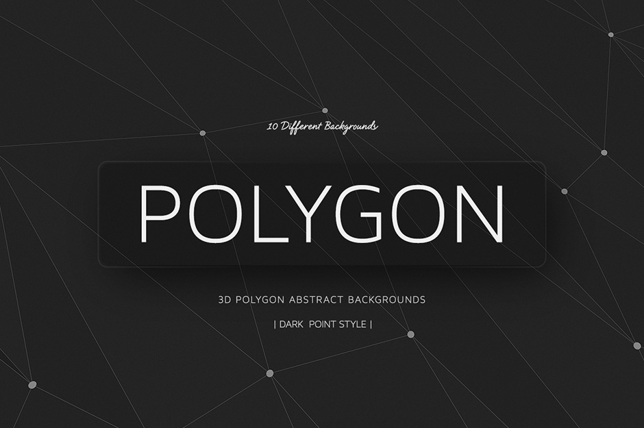 polygon backgrounds dark point style v01 design cuts