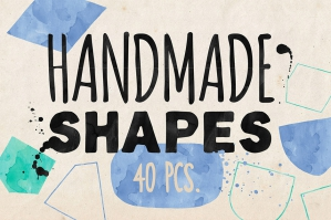 Hand-drawn Vector Shapes Vol. 2