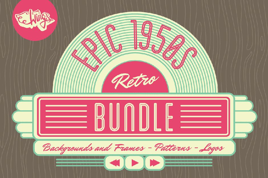 Epic 1950s Retro Bundle
