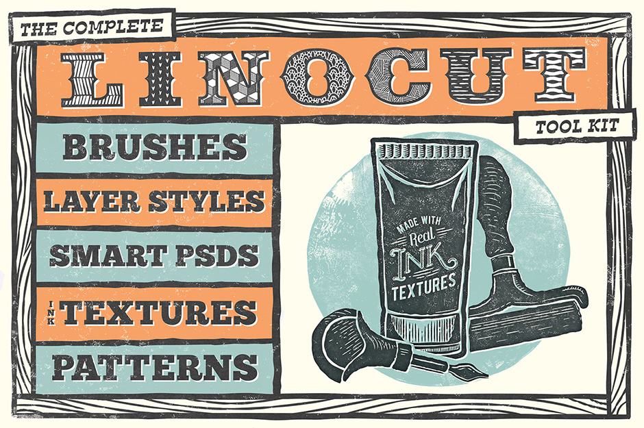 The Complete Linocut Tool Kit
