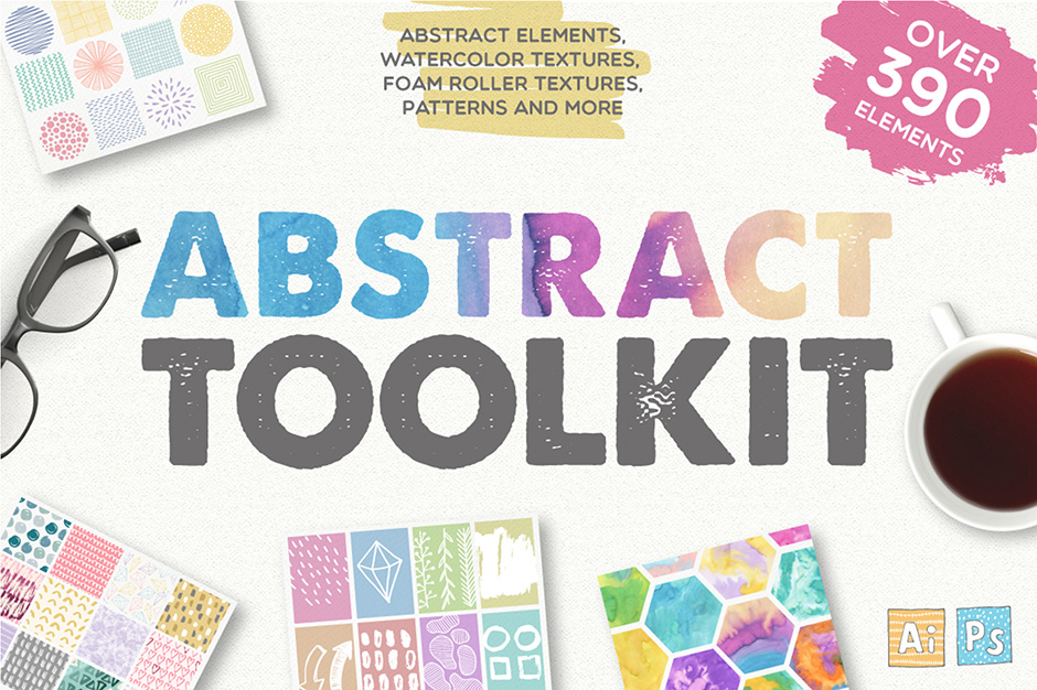 Abstract Tookit - 390 Elements