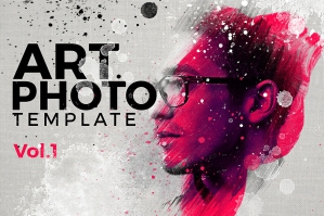 Art Photo Template Mock-up V.1