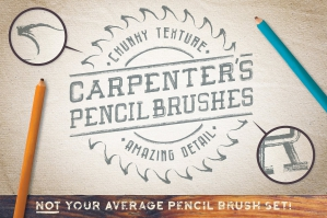 Carpenters Pencil Brushes