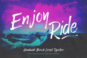 Enjoy the Ride Typeface