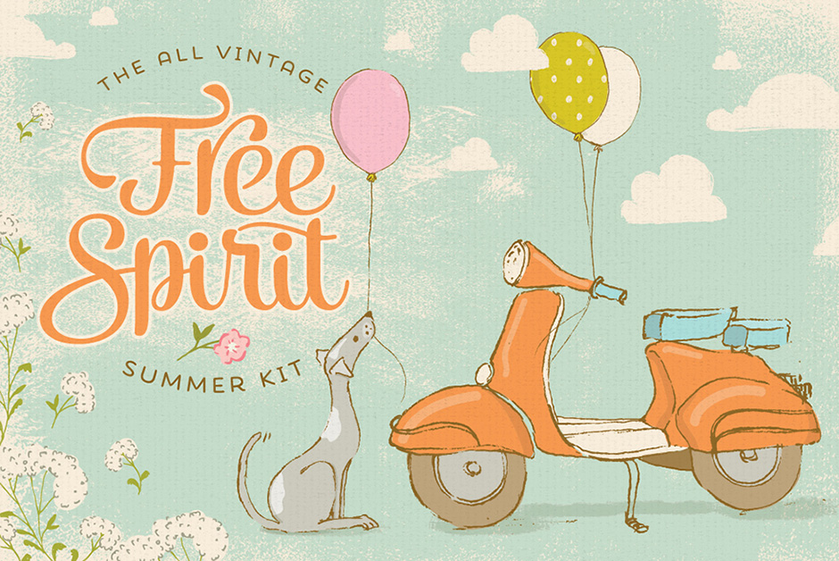 Free Spirit Vintage Summer Kit