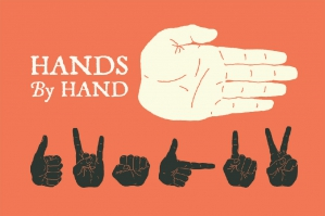 10 Hand Illustrated Hands and Fists