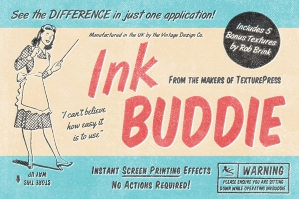 Inkbuddie Instant Screen Printing