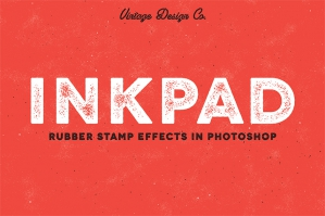 InkPad Rubber Stamp Effects