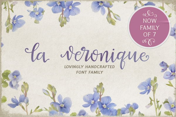 La Veronique Font Family