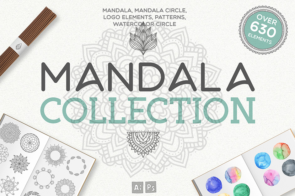 Mandala Collection (630 Elements)