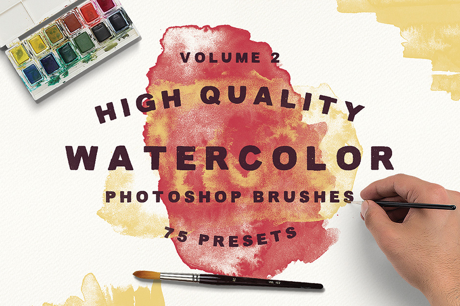 Watercolor Brushes Vol.2