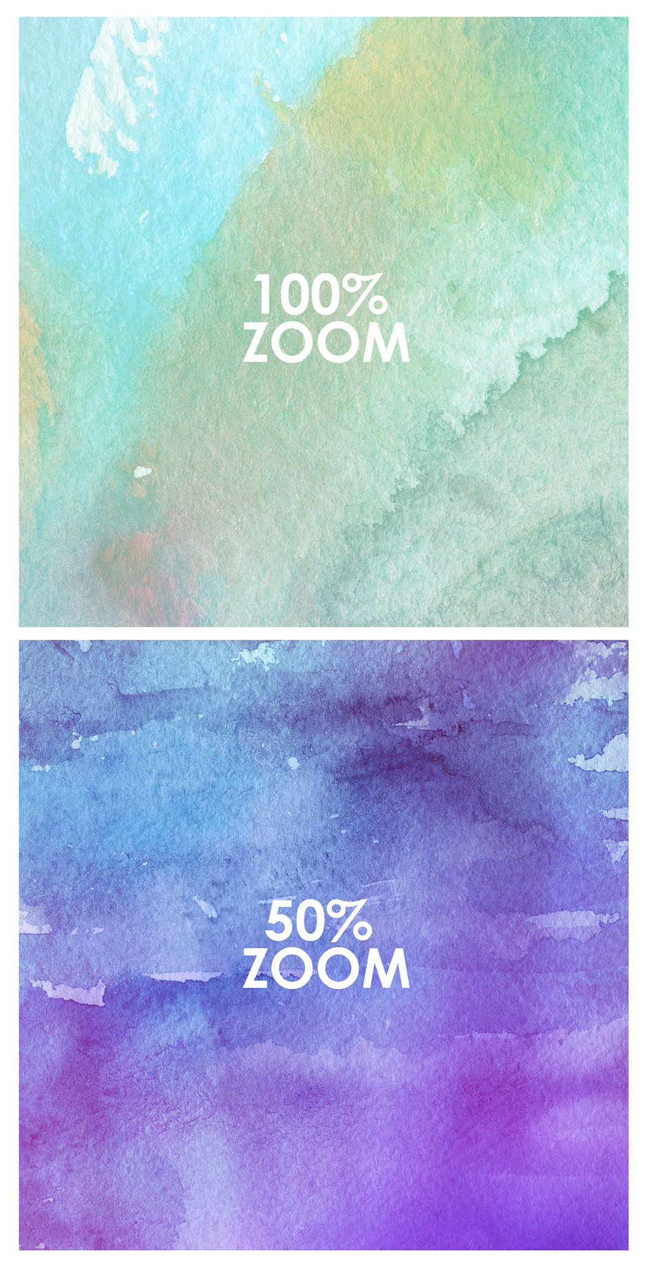 …100 Watercolor Backgrounds Vol. 2