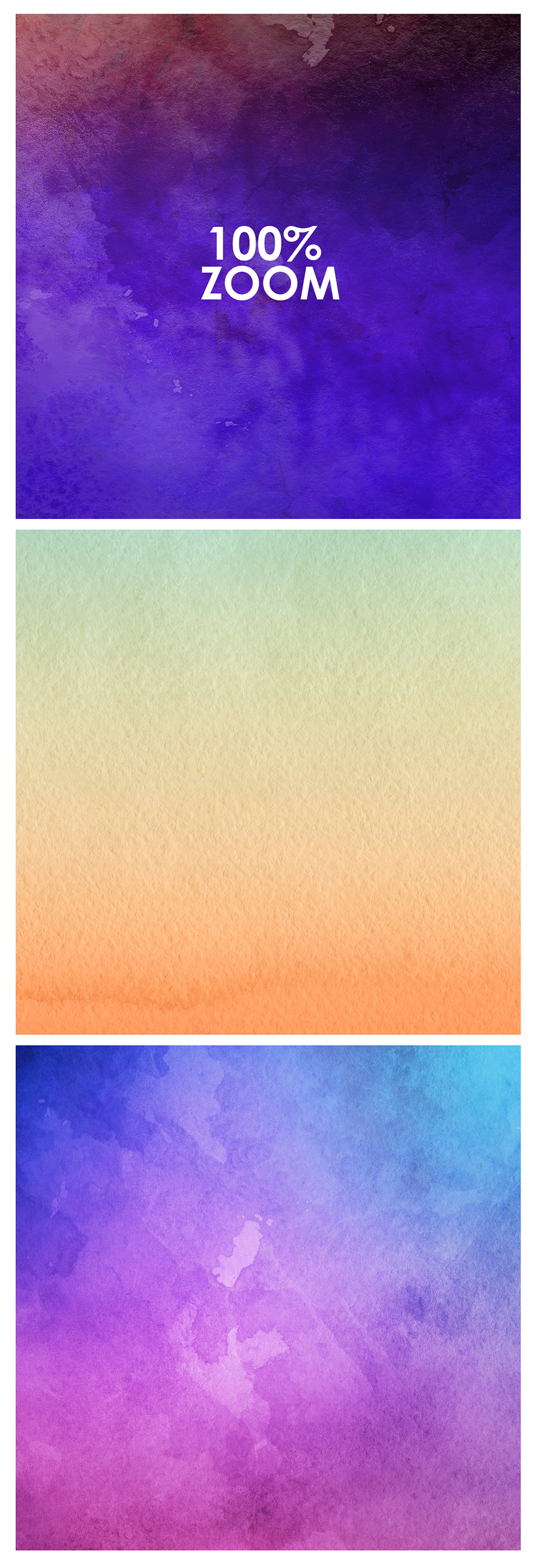 48 Watercolor Backgrounds