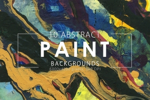 Abstract Paint Backgrounds Volume 1
