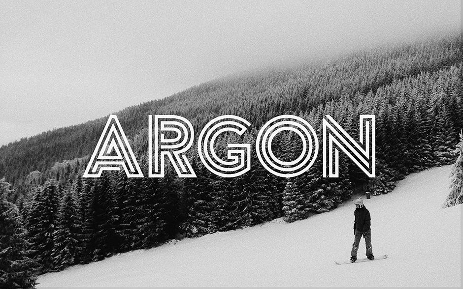 argon-font-first-image