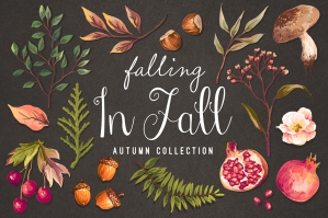 Hand-drawn Autumn Collection