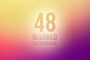 48 Vector Blurred Backgrounds