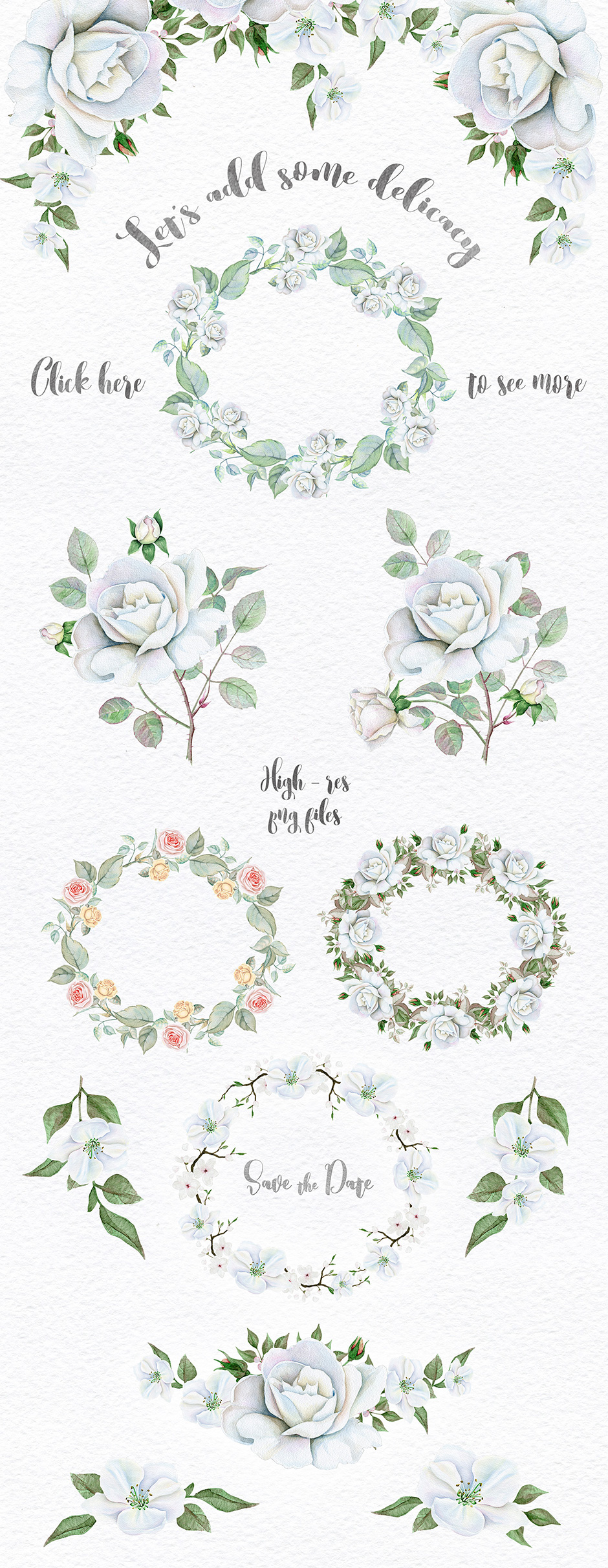 Wreaths and Bouquets Collection Vol. 2