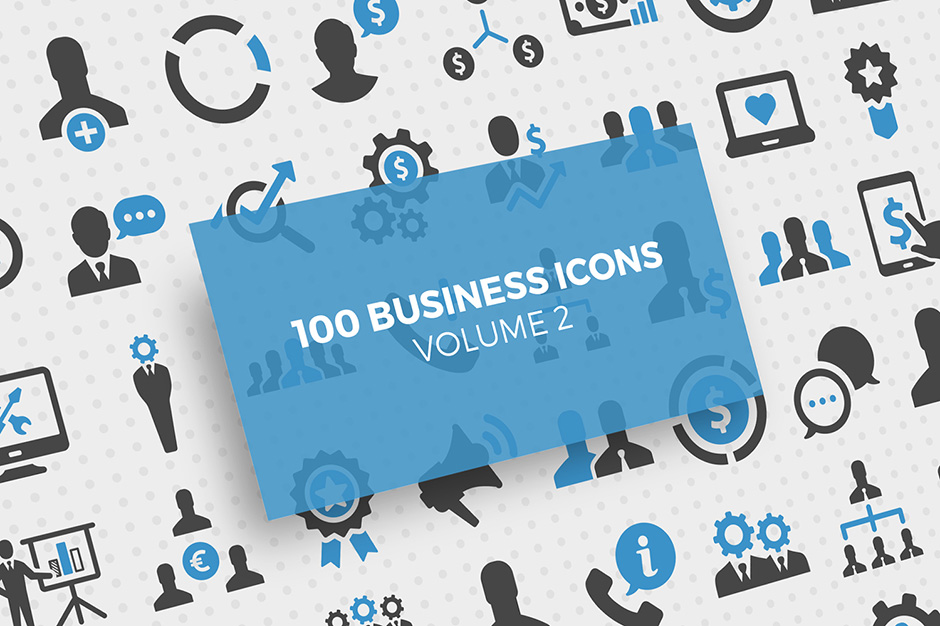 100 Business Icons Vol. 2