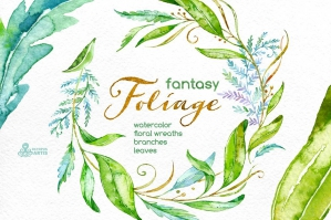 Fantasy Foliage Floral Collection