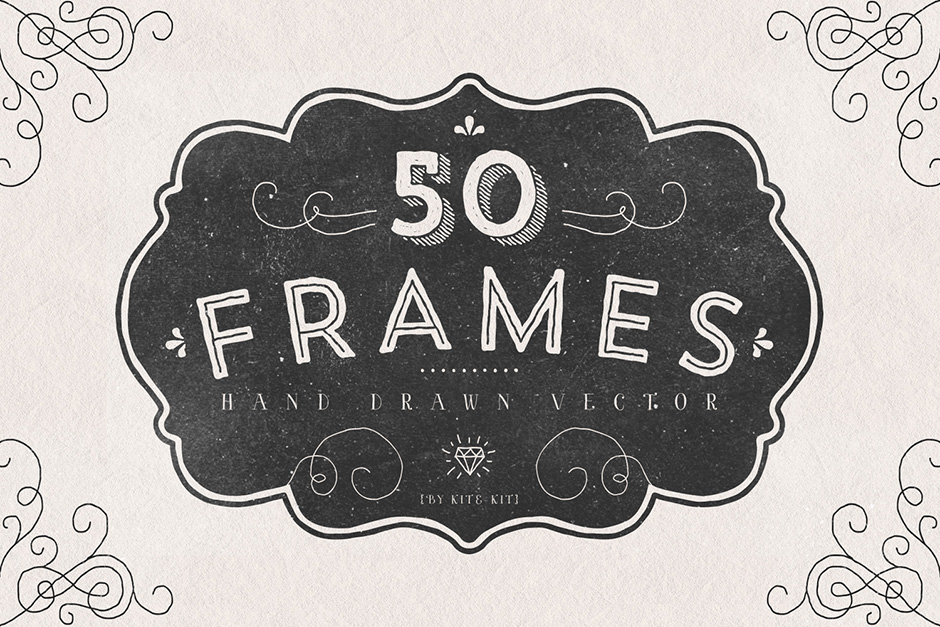 Frames - Hand-drawn Vector