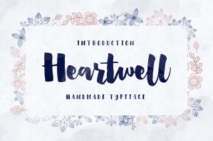 Heartwell Typeface