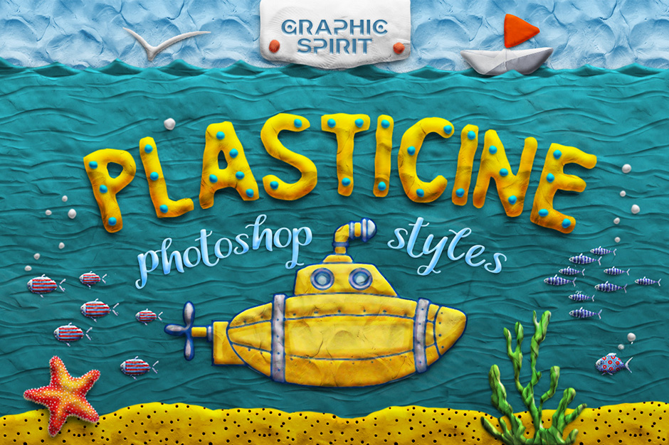 Plasticine Photoshop Toolkit
