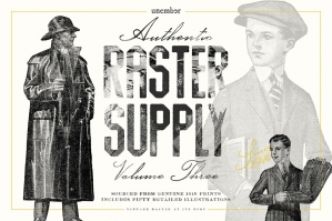 Unember Raster Supply Volume 3