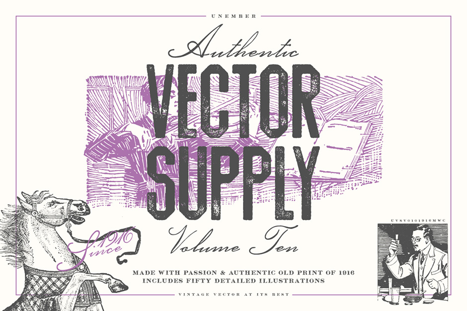 Unember Vector Supply Volume 10