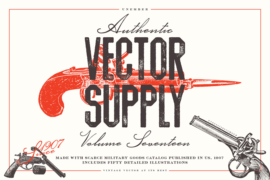 Unember Vector Supply Volume 17