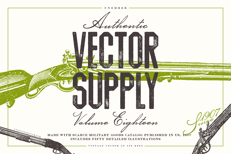 Unember Vector Supply Volume 18