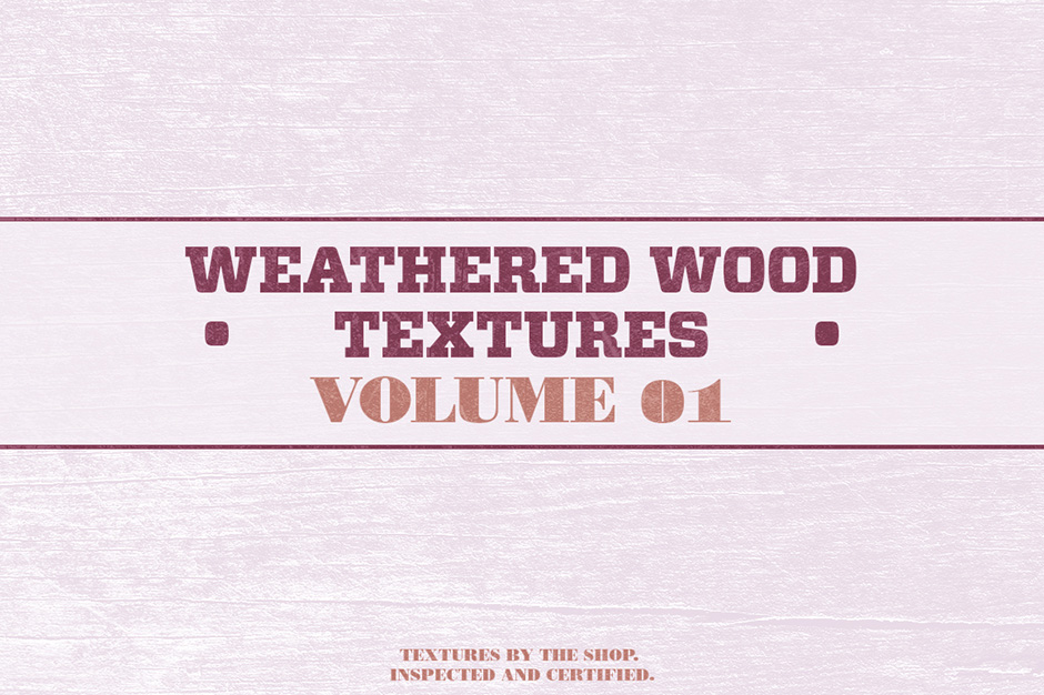 Weathered Wood Textures Volume 1