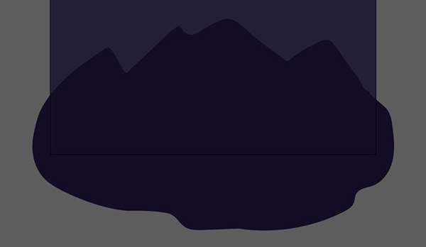 how to make a mountain range in illustrator
