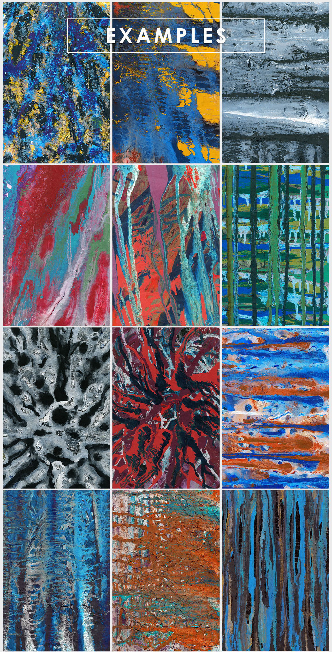 Abstract Paint Backgrounds Vol. 4