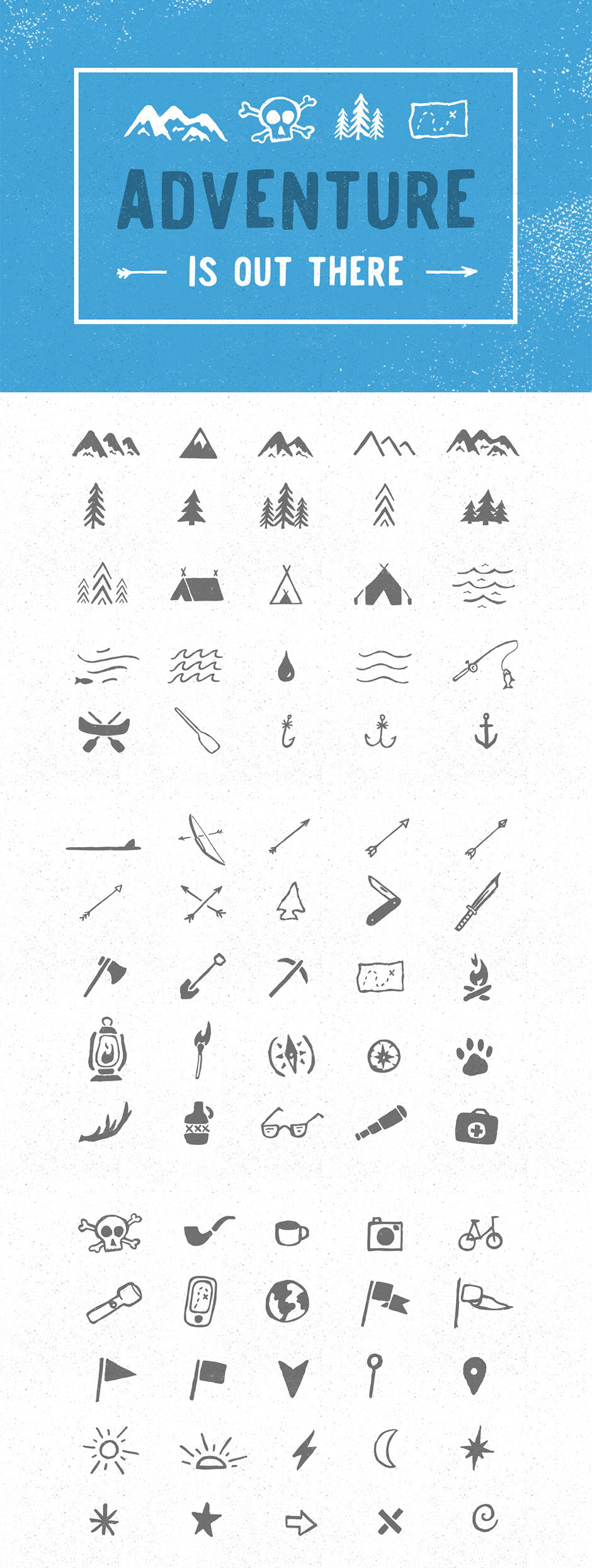 …Adventure Icon Pack