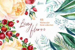 Berry Flavor Floral Collection