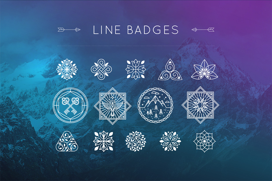line-badges-first-image