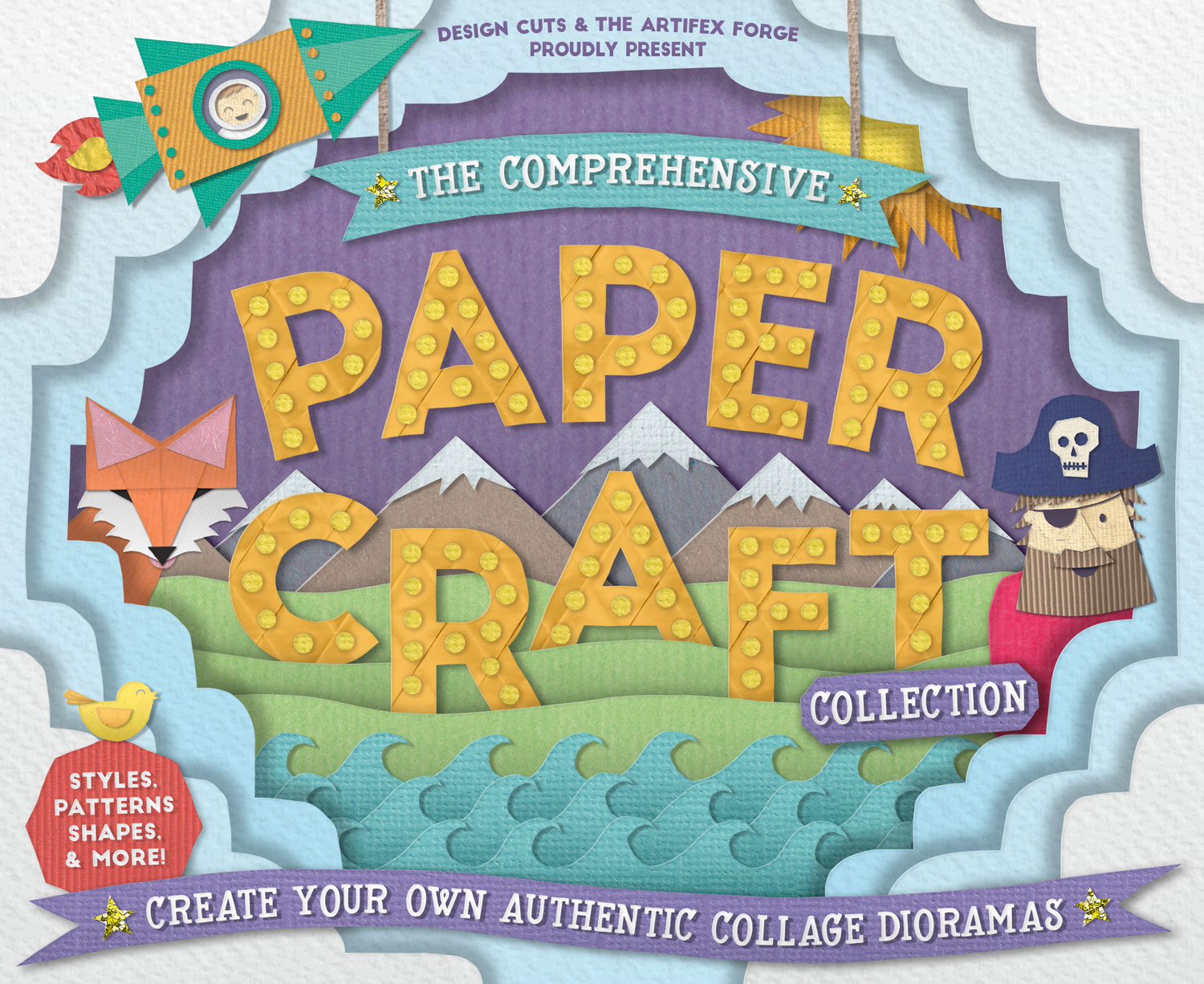 0d275148 The Comprehensive Paper Craft Collection By: Design Cuts, The Artifex Forge
