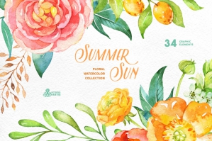 Summer Sun - Floral Collection