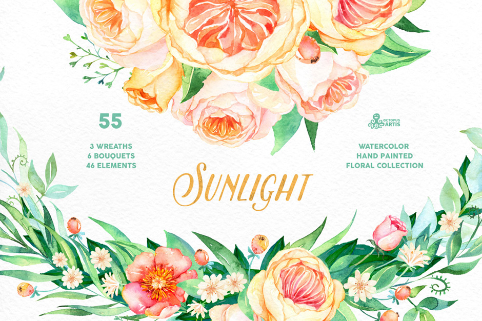 Sunlight Floral Collection
