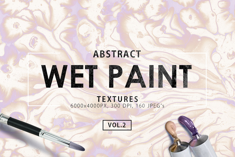 Wet Paint Textures Vol. 2