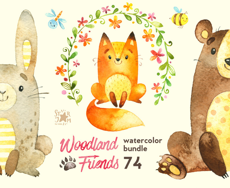 woodland-friends-top-image