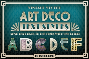 Art Deco Styles & Bonus Items