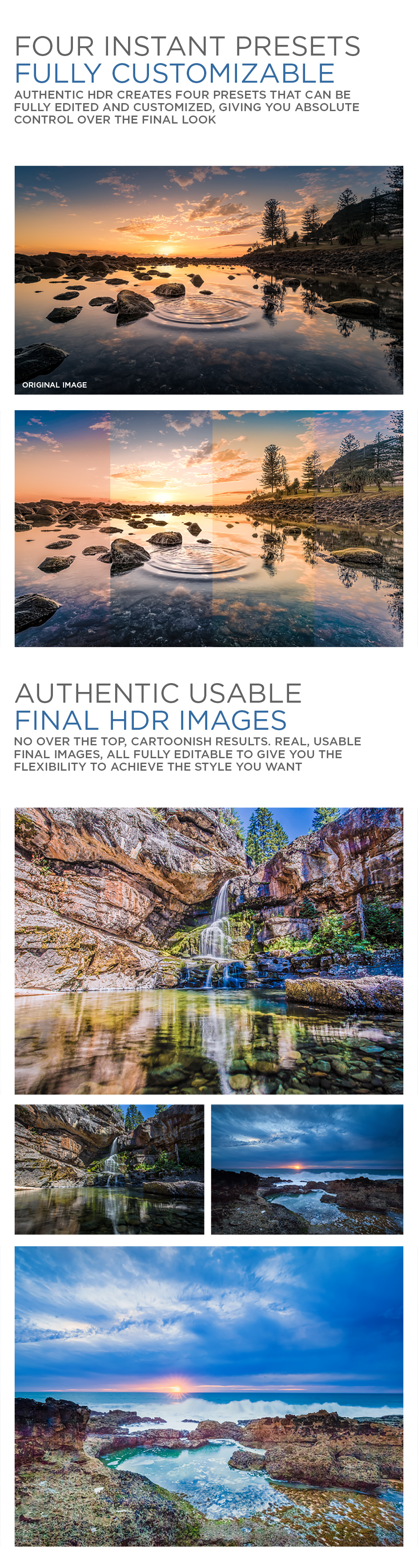 Authentic HDR Photoshop Action